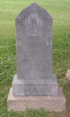 CHASE, NELLIE T. - Mills County, Iowa   NELLIE T. CHASE