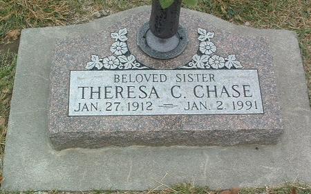 CHASE, THERESA C. - Mills County, Iowa   THERESA C. CHASE