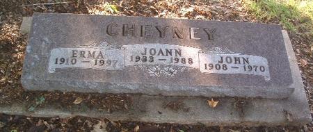 CHEYNEY, JOHN - Mills County, Iowa | JOHN CHEYNEY