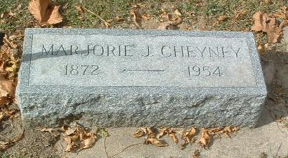 CHEYNEY, MARJORIE J. - Mills County, Iowa   MARJORIE J. CHEYNEY