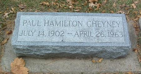 CHEYNEY, PAUL HAMILTON - Mills County, Iowa | PAUL HAMILTON CHEYNEY