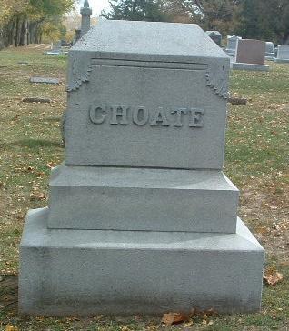 CHOATE, FAMILY HEADSTONE - Mills County, Iowa | FAMILY HEADSTONE CHOATE