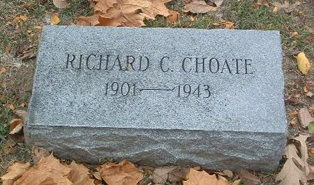 CHOATE, RICHARD C. - Mills County, Iowa | RICHARD C. CHOATE