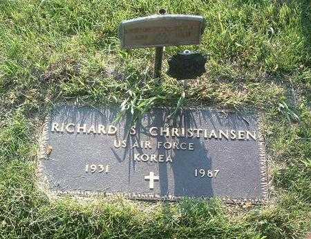 CHRISTIANSEN, RICHARD S. - Mills County, Iowa | RICHARD S. CHRISTIANSEN