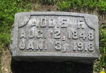 CHURCHILL, ADDIE F. - Mills County, Iowa | ADDIE F. CHURCHILL