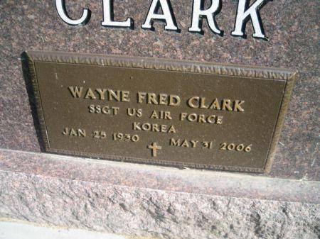 CLARK, WAYNE - Mills County, Iowa | WAYNE CLARK