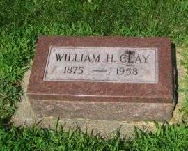 CLAY, WILLIAM H. - Mills County, Iowa | WILLIAM H. CLAY