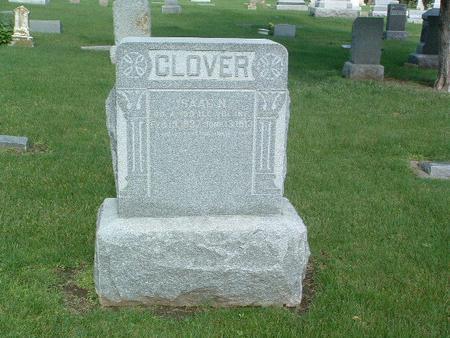CLOVER, ISSAC N. - Mills County, Iowa   ISSAC N. CLOVER