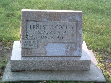 COGLEY, ERNEST F. - Mills County, Iowa | ERNEST F. COGLEY