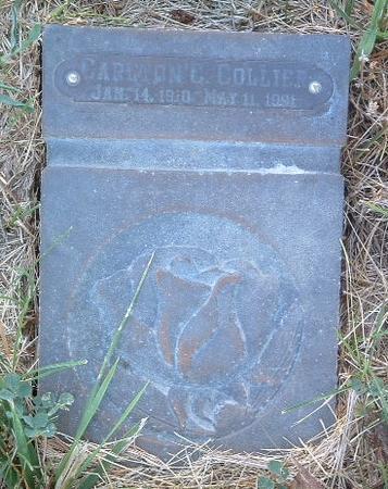 COLLIER, CAROLINE C. - Mills County, Iowa   CAROLINE C. COLLIER