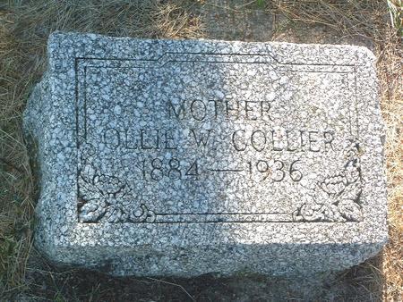 COLLIER, OLLIE W. - Mills County, Iowa | OLLIE W. COLLIER