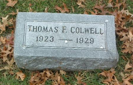 COLWELL, THOMAS F. - Mills County, Iowa | THOMAS F. COLWELL