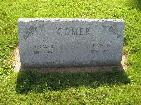 COMER, CORA B - Mills County, Iowa   CORA B COMER
