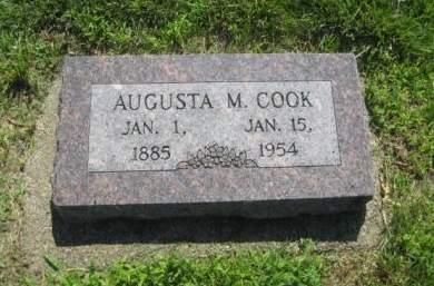 COOK, AUGUSTA M. - Mills County, Iowa | AUGUSTA M. COOK