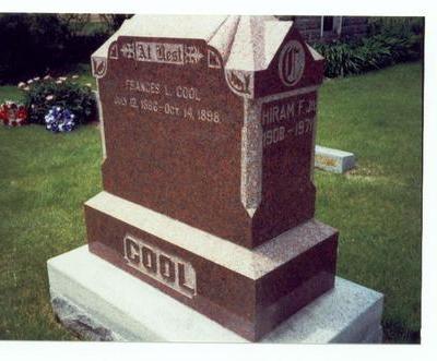 COOL, FRANCES L. - Mills County, Iowa | FRANCES L. COOL