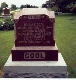 COOL, HIRAM F. - Mills County, Iowa | HIRAM F. COOL