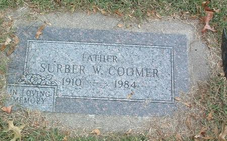 COOMER, SURBER W. - Mills County, Iowa | SURBER W. COOMER