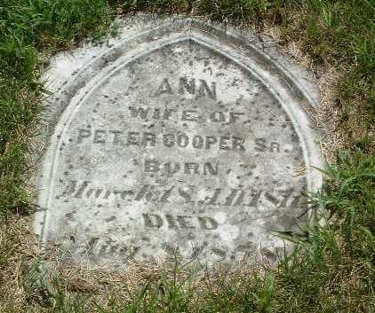 COOPER, ANN - Mills County, Iowa   ANN COOPER