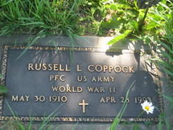 COPPOCK, RUSSELL L - Mills County, Iowa   RUSSELL L COPPOCK
