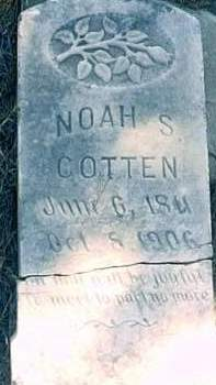 COTTEN, NOAH S. - Mills County, Iowa | NOAH S. COTTEN
