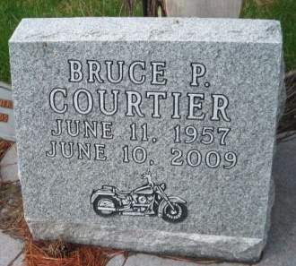 COURTIER, BRUCE P. - Mills County, Iowa   BRUCE P. COURTIER