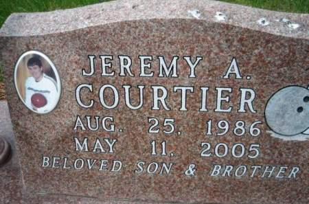 COURTIER, JEREMY A. - Mills County, Iowa   JEREMY A. COURTIER