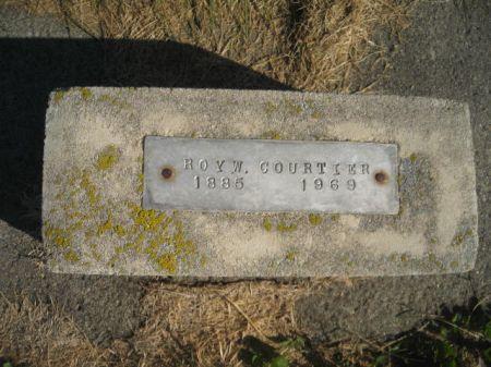 COURTIER, ROY W. - Mills County, Iowa   ROY W. COURTIER