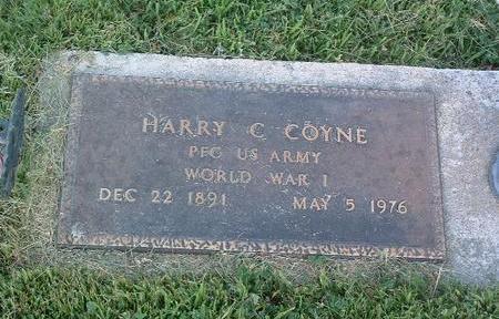 COYNE, HARRY C. - Mills County, Iowa   HARRY C. COYNE