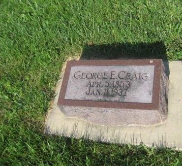 CRAIG, GEORGE E. - Mills County, Iowa   GEORGE E. CRAIG