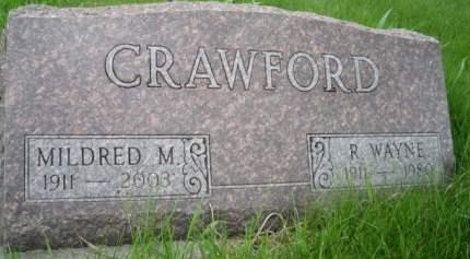 CRAWFORD, MILDRED MARIE - Mills County, Iowa | MILDRED MARIE CRAWFORD