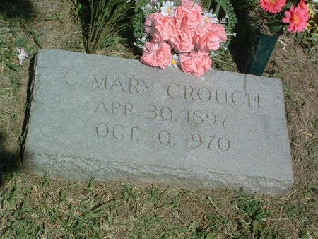 CROUCH, C. MARY - Mills County, Iowa   C. MARY CROUCH