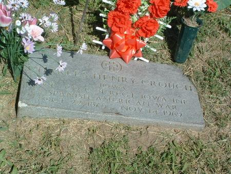 CROUCH, CHARLES HENRY - Mills County, Iowa | CHARLES HENRY CROUCH