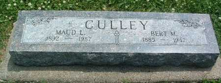CULLEY, BERT M. - Mills County, Iowa | BERT M. CULLEY
