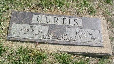 CURTIS, MABEL A. - Mills County, Iowa | MABEL A. CURTIS