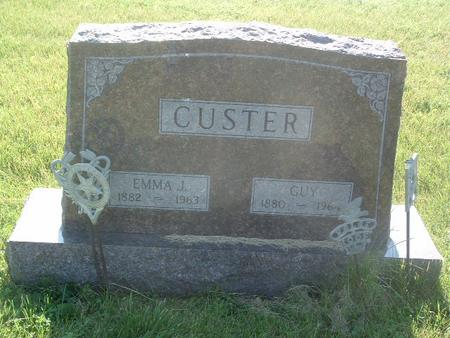 CUSTER, EMMA J. - Mills County, Iowa | EMMA J. CUSTER
