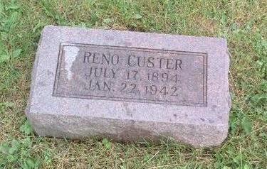 CUSTER, RENO - Mills County, Iowa | RENO CUSTER