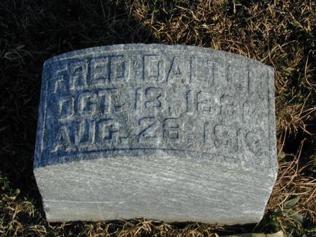 DALTON, FRED - Mills County, Iowa | FRED DALTON