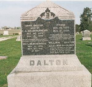DALTON WEATHERHEAD, ANNIE - Mills County, Iowa | ANNIE DALTON WEATHERHEAD