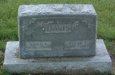 DAVIS, ANNA P. - Mills County, Iowa | ANNA P. DAVIS