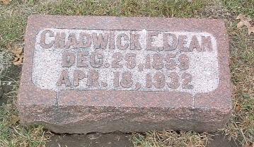 DEAN, CHADWICK E. - Mills County, Iowa | CHADWICK E. DEAN