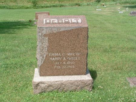 DEBOLT, EMMA C. - Mills County, Iowa | EMMA C. DEBOLT