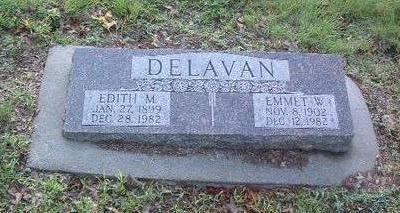 DELEVAN, EDITH M. - Mills County, Iowa | EDITH M. DELEVAN