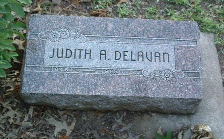 DELEVAN, JUDITH A. - Mills County, Iowa | JUDITH A. DELEVAN
