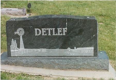 DETLEF, FAMILY - Mills County, Iowa | FAMILY DETLEF