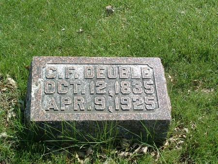 DEUBLE, C.F. - Mills County, Iowa | C.F. DEUBLE
