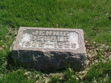 DEUBLE, JENNIE - Mills County, Iowa | JENNIE DEUBLE