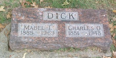 DICK, MABEL T. - Mills County, Iowa | MABEL T. DICK