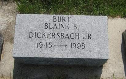 DICKERSBACH, BLAINE B. JR. - Mills County, Iowa | BLAINE B. JR. DICKERSBACH