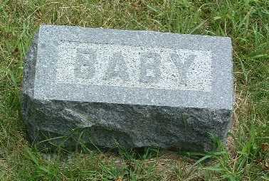 DILLEHAY, BABY - Mills County, Iowa   BABY DILLEHAY
