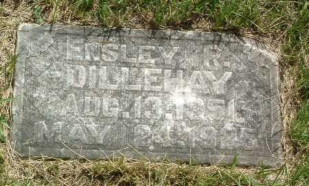 DILLEHAY, ENSLEY R. - Mills County, Iowa | ENSLEY R. DILLEHAY